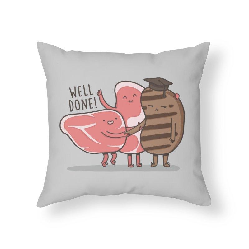THE GRADUATE  Home Throw Pillow by RiLi's Artist Shop
