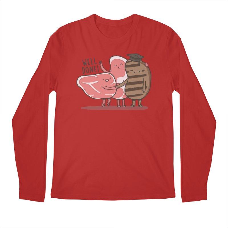 THE GRADUATE  Men's Longsleeve T-Shirt by RiLi's Artist Shop