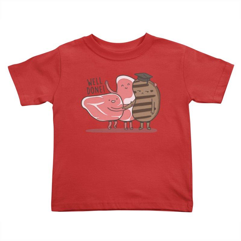 THE GRADUATE  Kids Toddler T-Shirt by RiLi's Artist Shop