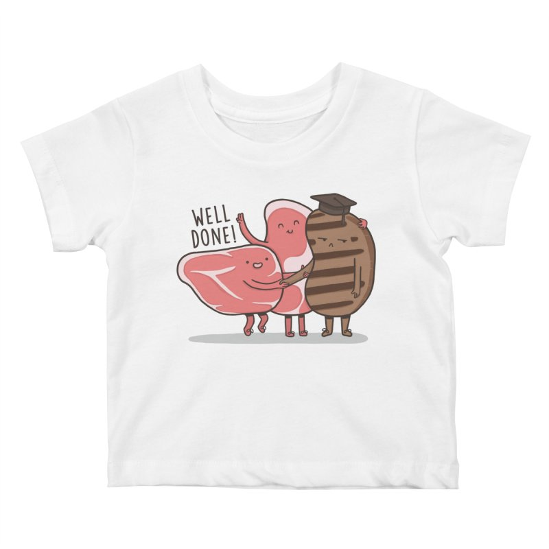 THE GRADUATE  Kids Baby T-Shirt by RiLi's Artist Shop