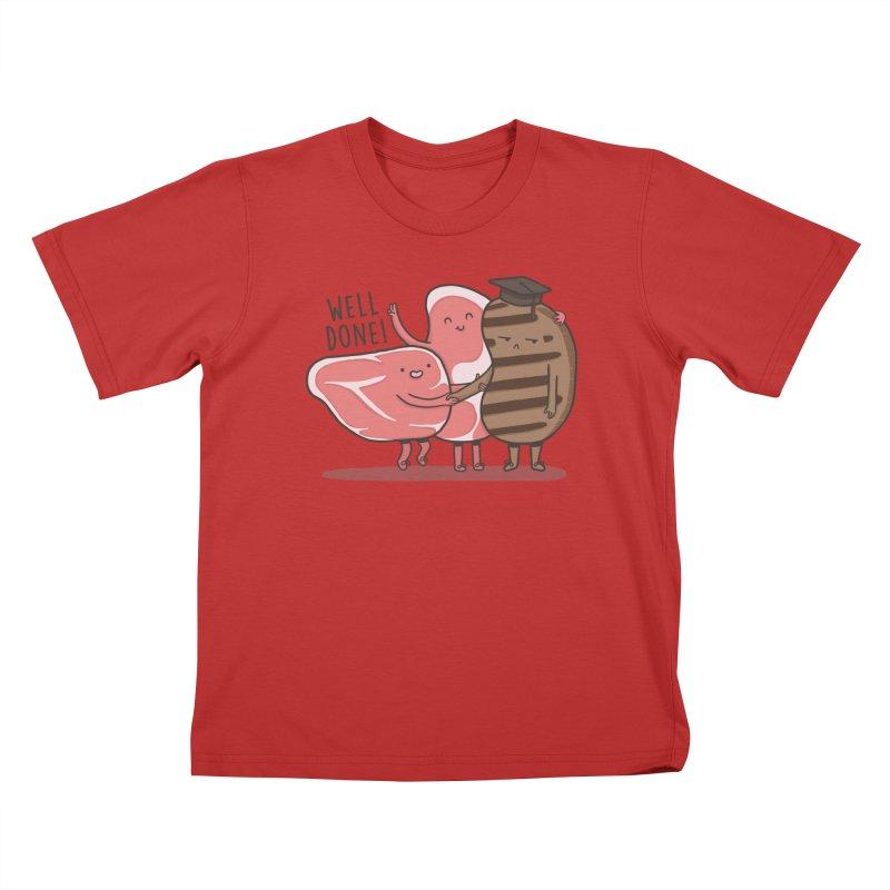 THE GRADUATE  Kids T-Shirt by RiLi's Artist Shop