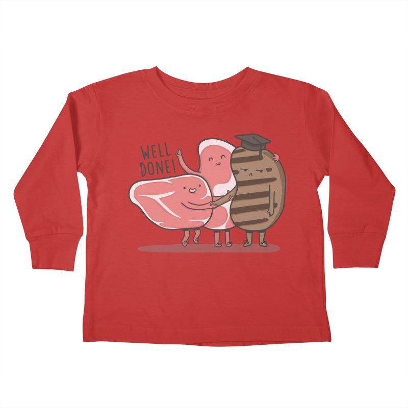 THE GRADUATE  Kids Toddler Longsleeve T-Shirt by RiLi's Artist Shop