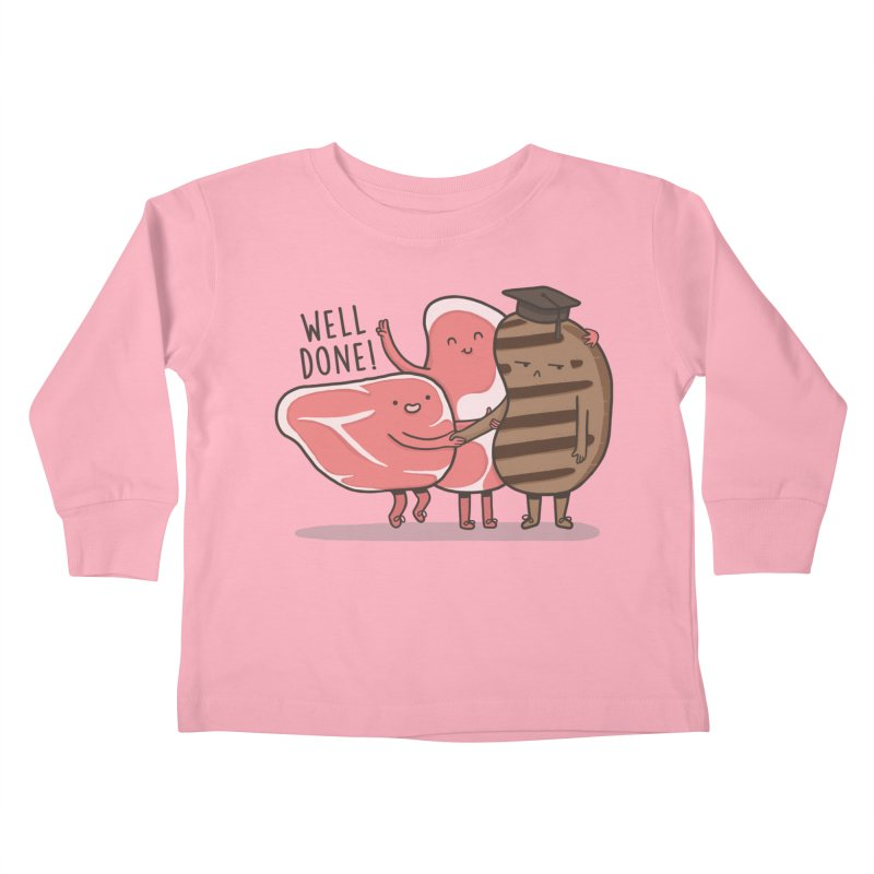 THE GRADUATE  Kids Toddler Longsleeve T-Shirt by RiLi's Artist Shop