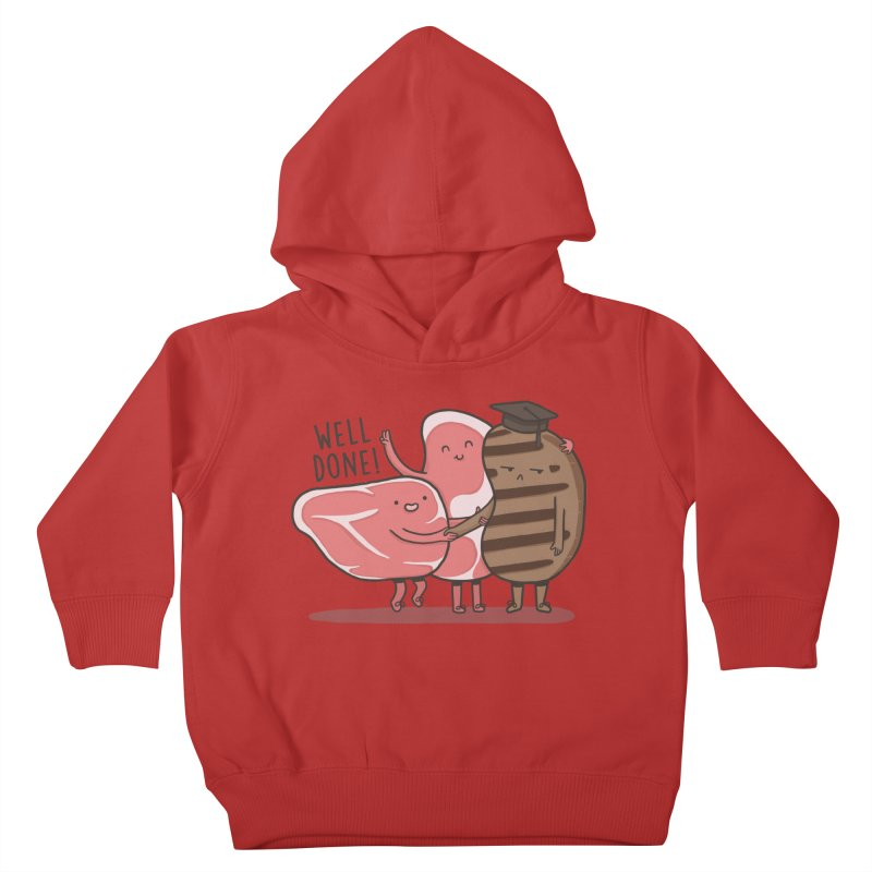 THE GRADUATE  Kids Toddler Pullover Hoody by RiLi's Artist Shop