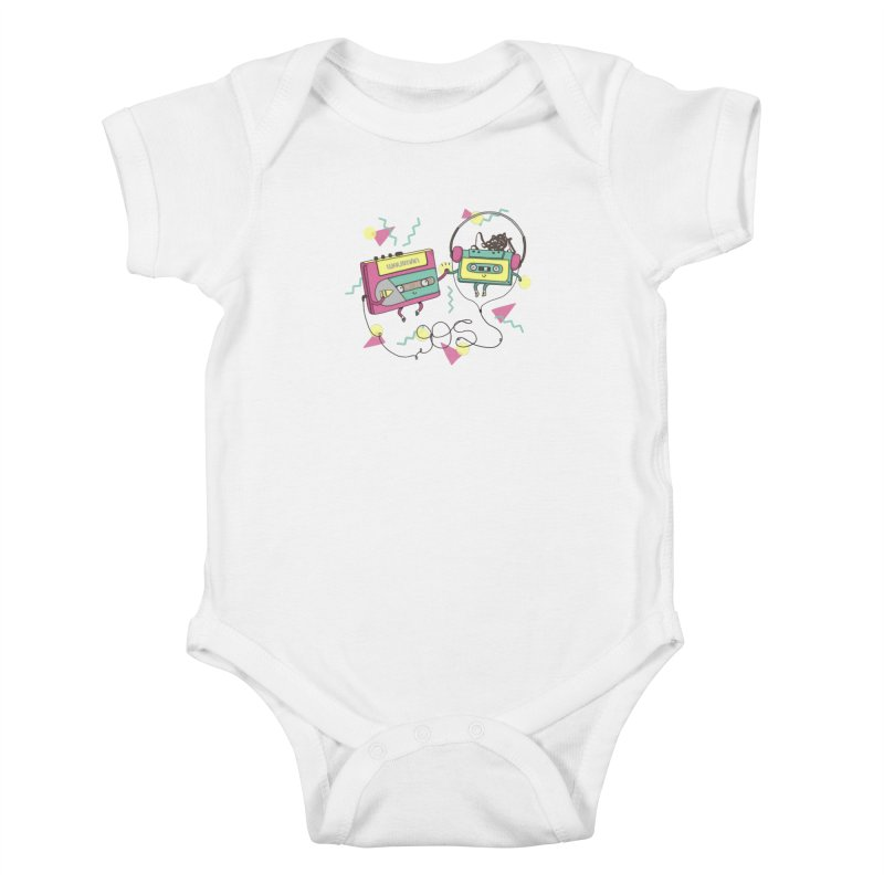 GREATEST HITS Kids Baby Bodysuit by RiLi's Artist Shop