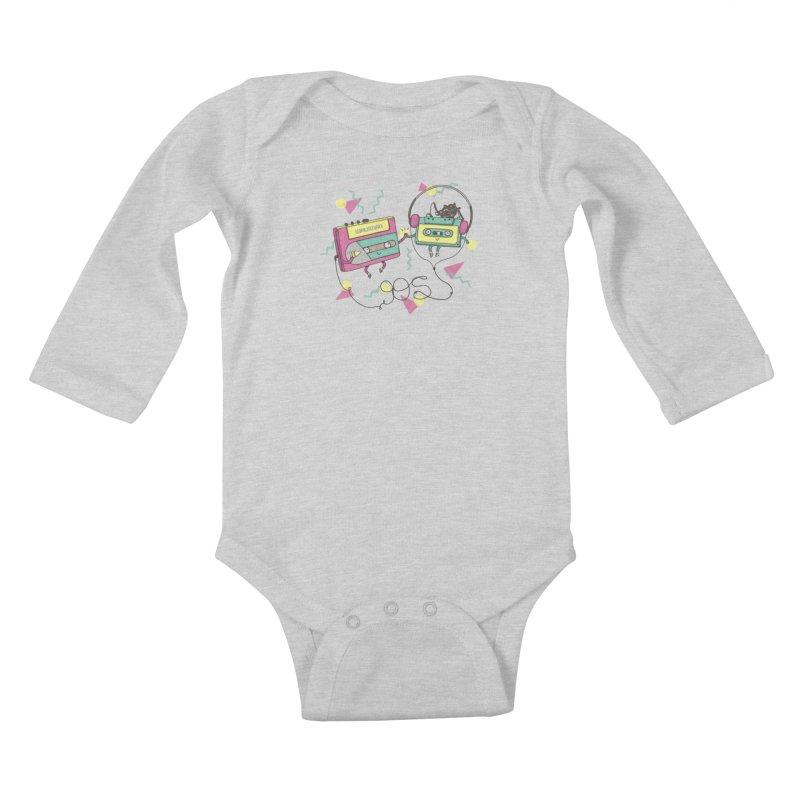 GREATEST HITS Kids Baby Longsleeve Bodysuit by RiLi's Artist Shop