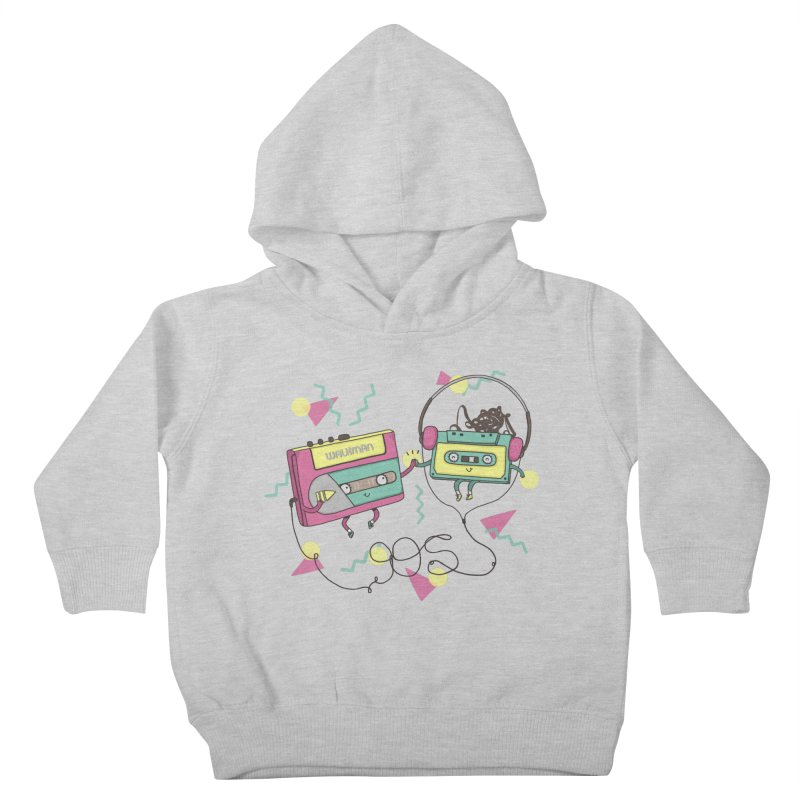 GREATEST HITS Kids Toddler Pullover Hoody by RiLi's Artist Shop