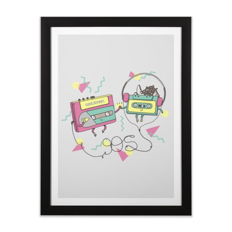 GREATEST HITS Home Framed Fine Art Print by RiLi's Artist Shop