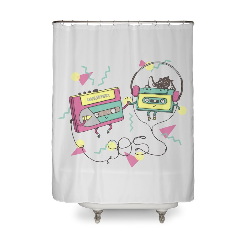 GREATEST HITS Home Shower Curtain by RiLi's Artist Shop