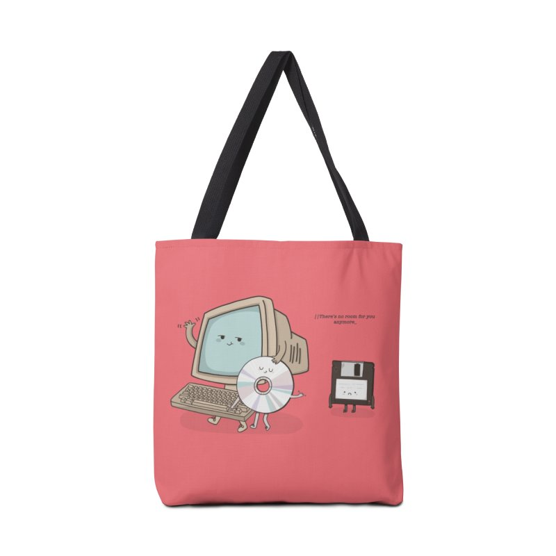 THERE'S NO ROOM FOR YOU ANYMORE! Accessories Bag by RiLi's Artist Shop