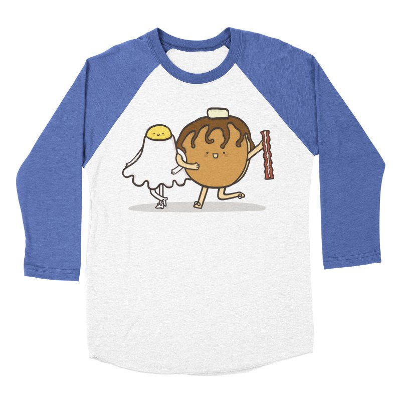 TAP DANCE FOR BREAKFAST Men's Baseball Triblend Longsleeve T-Shirt by RiLi's Artist Shop