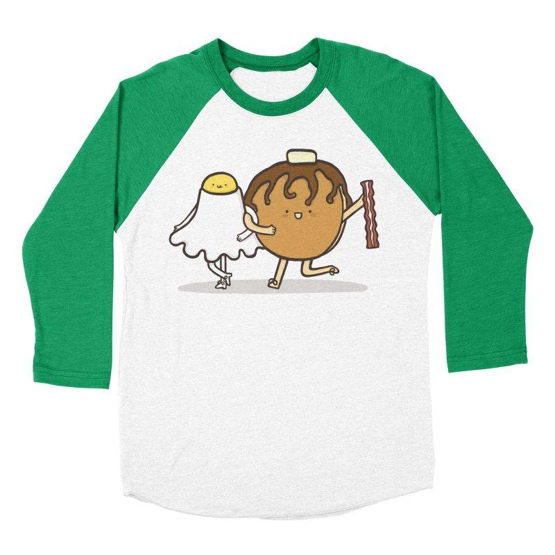 TAP DANCE FOR BREAKFAST Men's Baseball Triblend T-Shirt by RiLi's Artist Shop