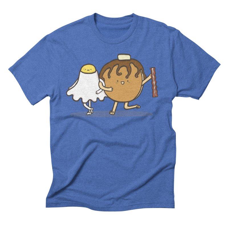 TAP DANCE FOR BREAKFAST Men's Triblend T-shirt by RiLi's Artist Shop