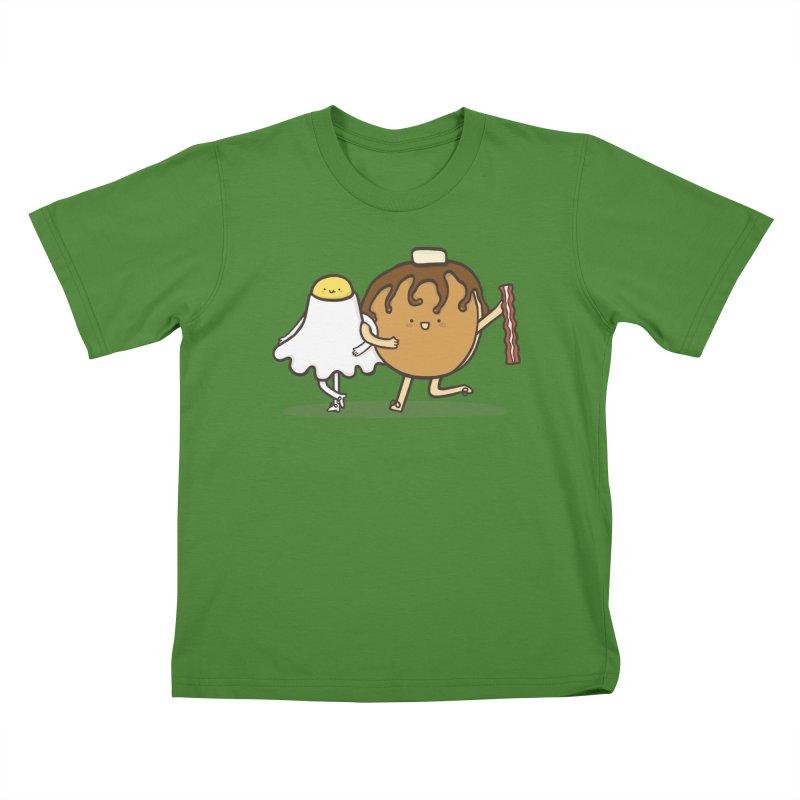 TAP DANCE FOR BREAKFAST Kids T-Shirt by RiLi's Artist Shop