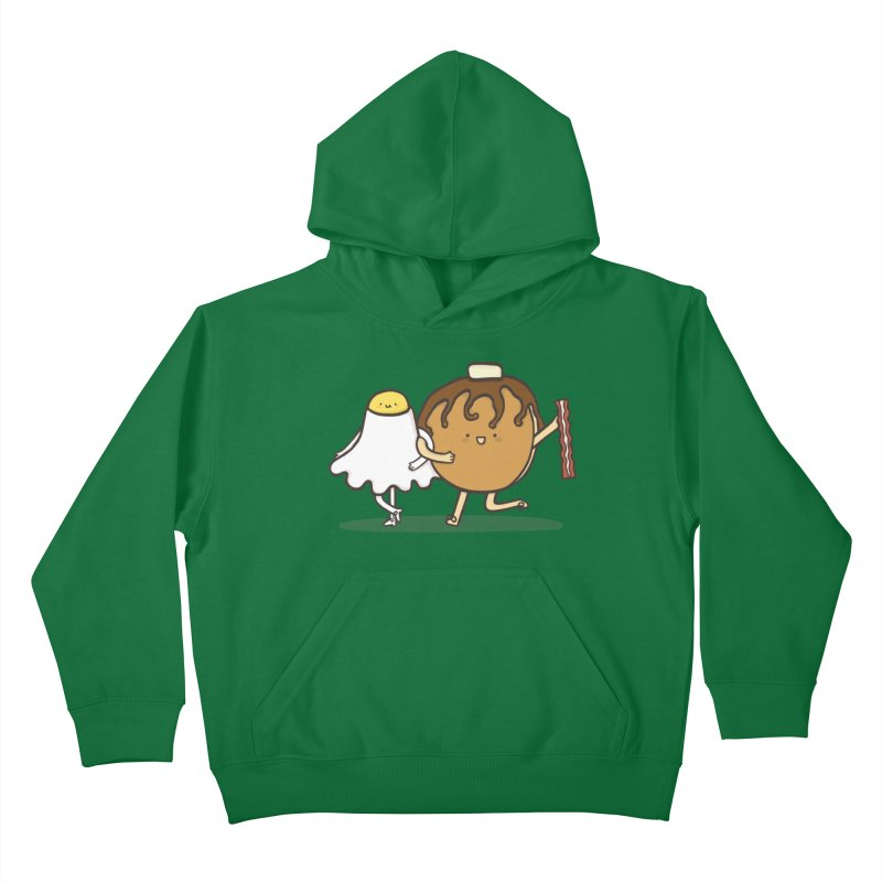 TAP DANCE FOR BREAKFAST Kids Pullover Hoody by RiLi's Artist Shop