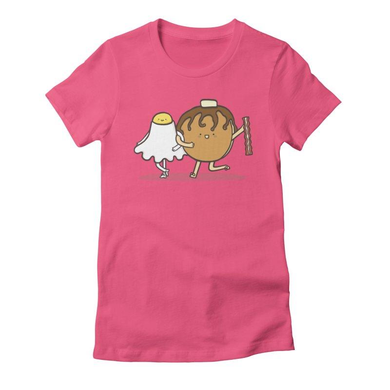 TAP DANCE FOR BREAKFAST Women's Fitted T-Shirt by RiLi's Artist Shop