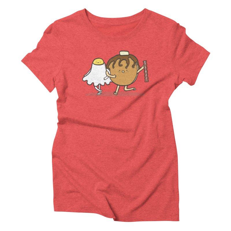 TAP DANCE FOR BREAKFAST Women's Triblend T-shirt by RiLi's Artist Shop