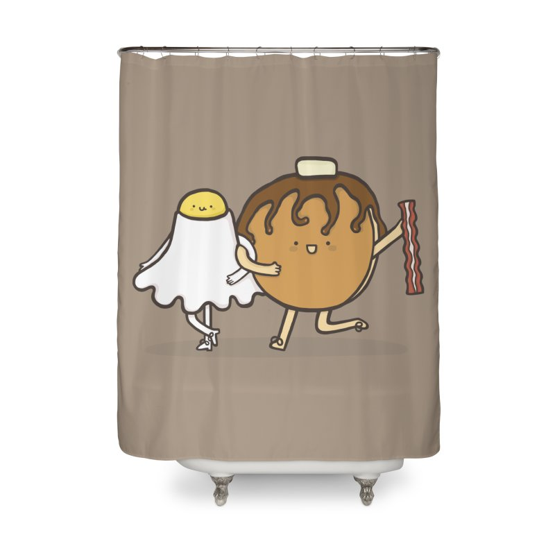 TAP DANCE FOR BREAKFAST Home Shower Curtain by RiLi's Artist Shop