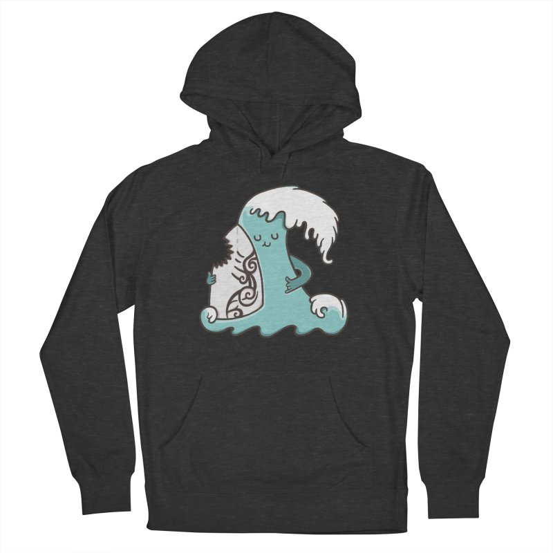 SURF TILL I DIE Women's French Terry Pullover Hoody by RiLi's Artist Shop