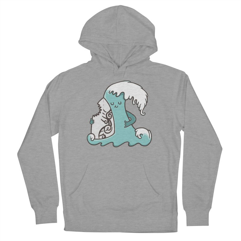 SURF TILL I DIE  Men's Pullover Hoody by RiLi's Artist Shop