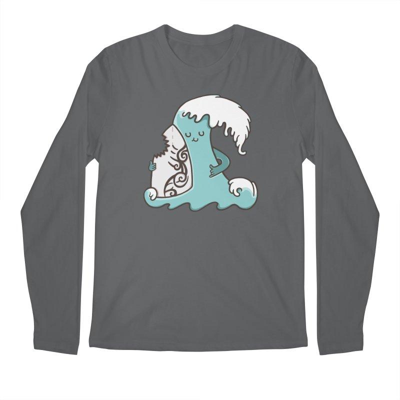 SURF TILL I DIE Men's Regular Longsleeve T-Shirt by RiLi's Artist Shop