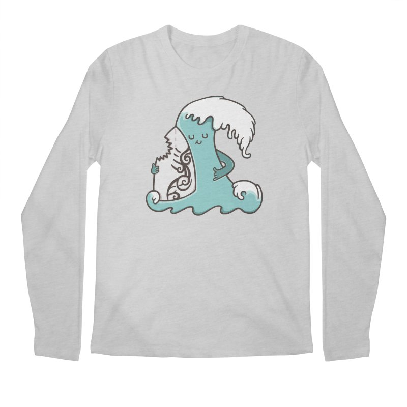SURF TILL I DIE  Men's Longsleeve T-Shirt by RiLi's Artist Shop