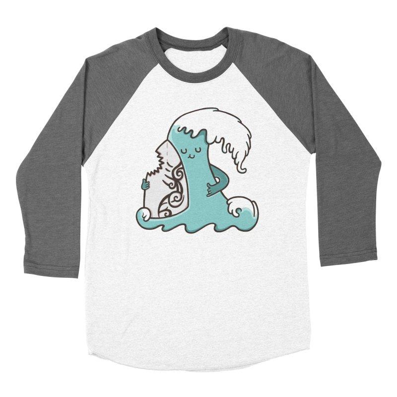 SURF TILL I DIE Women's Baseball Triblend Longsleeve T-Shirt by RiLi's Artist Shop