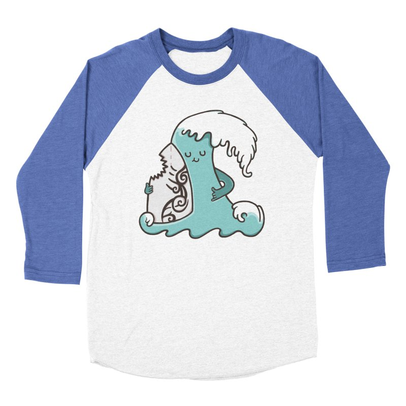 SURF TILL I DIE  Men's Baseball Triblend T-Shirt by RiLi's Artist Shop