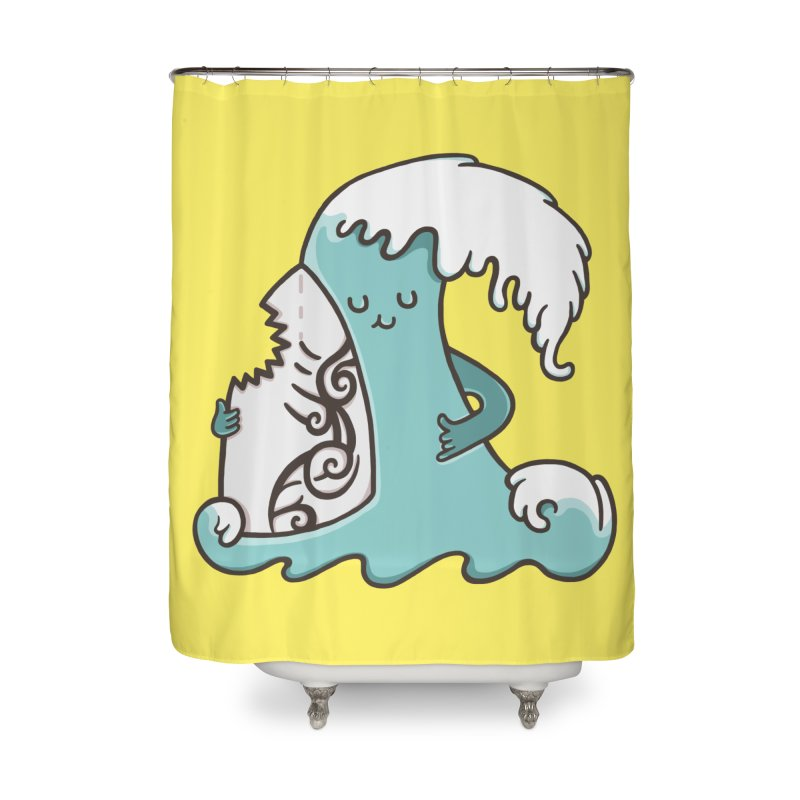 SURF TILL I DIE  Home Shower Curtain by RiLi's Artist Shop