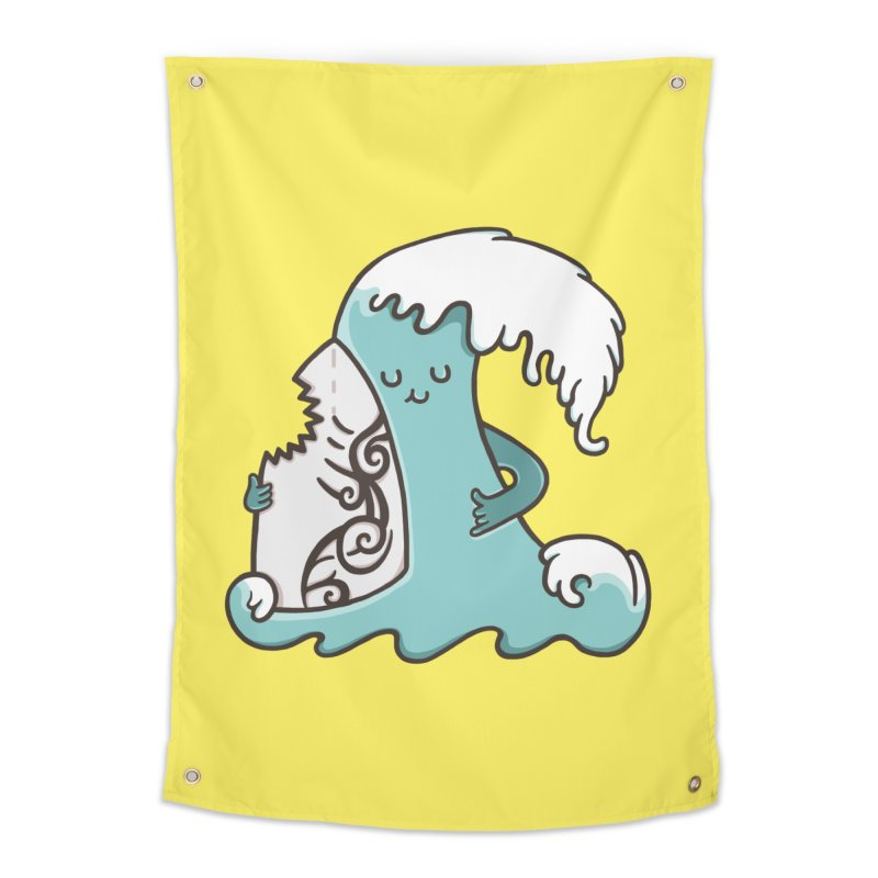 SURF TILL I DIE Home Tapestry by RiLi's Artist Shop