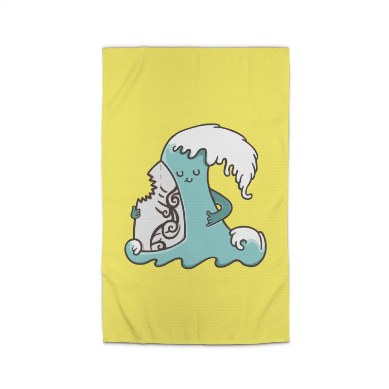 SURF TILL I DIE  Home Rug by RiLi's Artist Shop