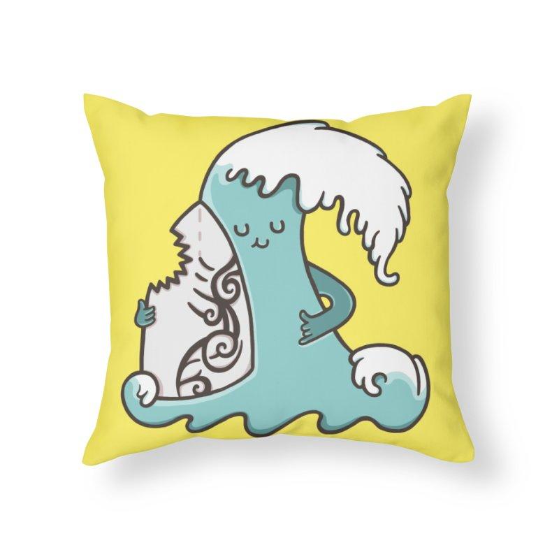 SURF TILL I DIE  Home Throw Pillow by RiLi's Artist Shop