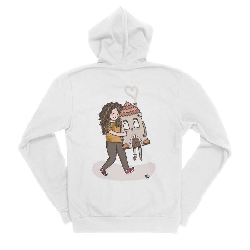 THERE'S NO PLACE LIKE HOME Men's Zip-Up Hoody by RiLi's Artist Shop