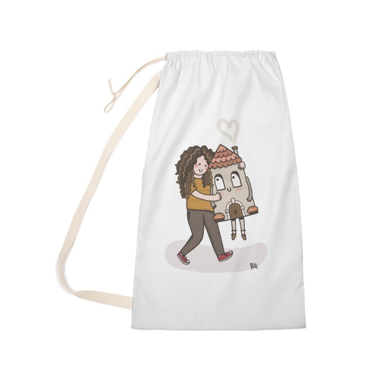 THERE'S NO PLACE LIKE HOME Accessories Bag by RiLi's Artist Shop
