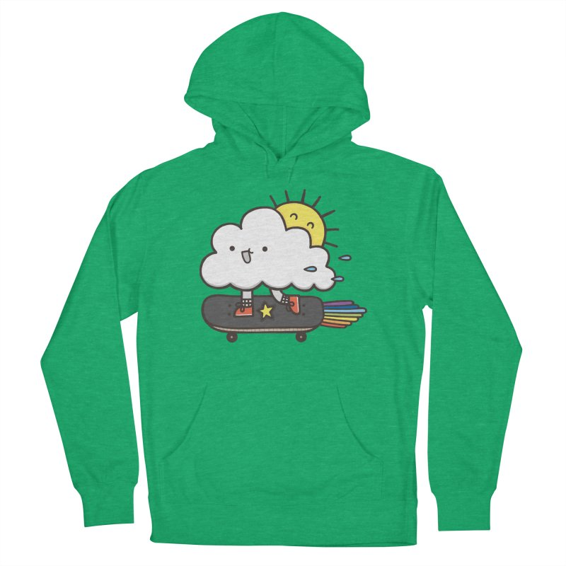 ALWAYS TIME TO SKATE Women's Pullover Hoody by RiLi's Artist Shop