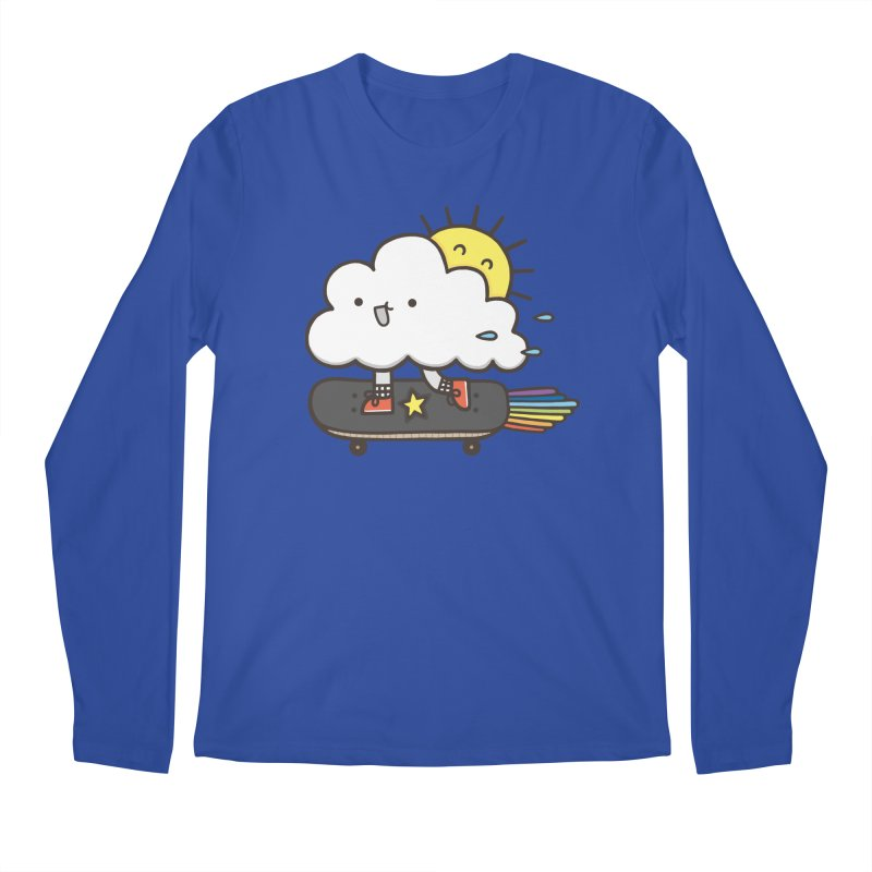 ALWAYS TIME TO SKATE Men's Longsleeve T-Shirt by RiLi's Artist Shop