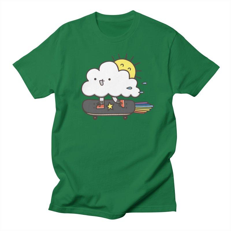 ALWAYS TIME TO SKATE Men's Regular T-Shirt by RiLi's Artist Shop