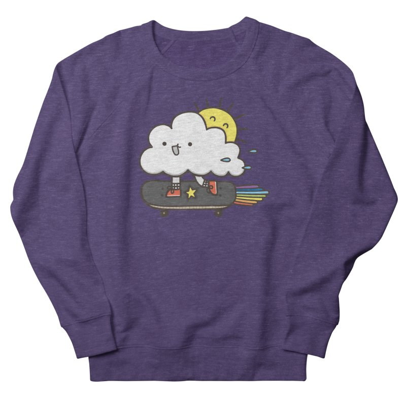ALWAYS TIME TO SKATE Women's French Terry Sweatshirt by RiLi's Artist Shop