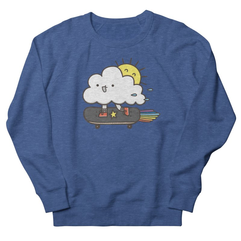 ALWAYS TIME TO SKATE Men's French Terry Sweatshirt by RiLi's Artist Shop