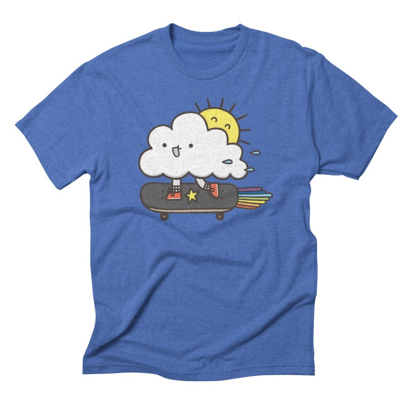 ALWAYS TIME TO SKATE Men's Triblend T-Shirt by RiLi's Artist Shop