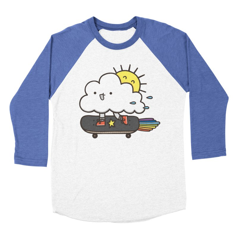 ALWAYS TIME TO SKATE Men's Baseball Triblend T-Shirt by RiLi's Artist Shop