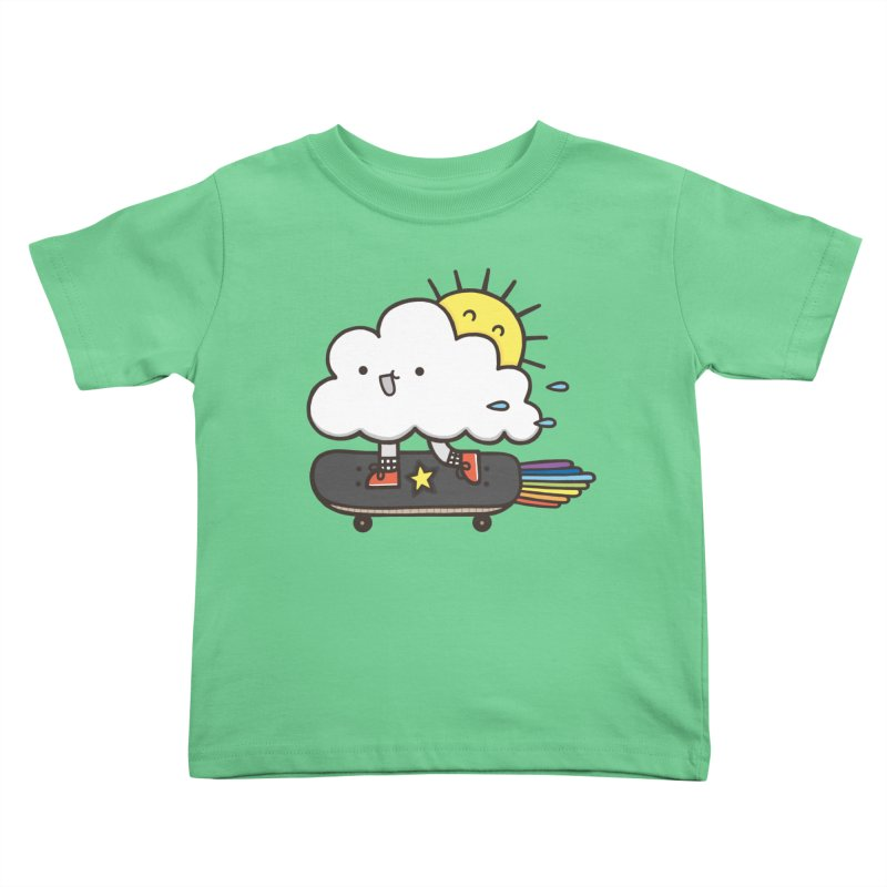 ALWAYS TIME TO SKATE Kids Toddler T-Shirt by RiLi's Artist Shop