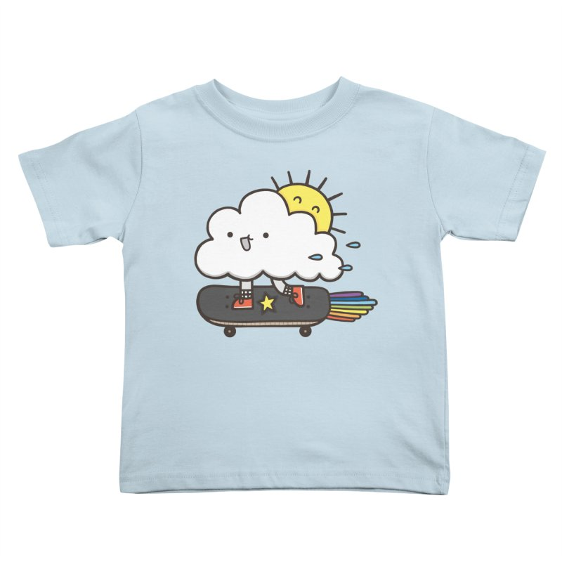 ALWAYS TIME TO SKATE Kids Toddler T-Shirt by RiLi's Artist Shop