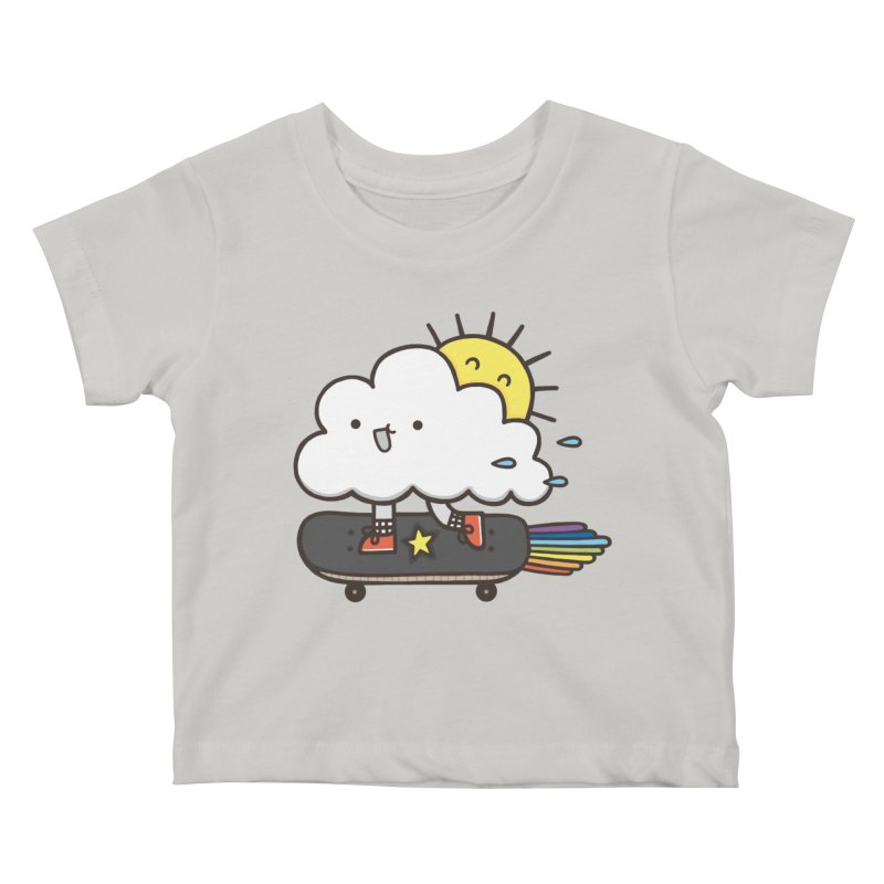 ALWAYS TIME TO SKATE Kids Baby T-Shirt by RiLi's Artist Shop
