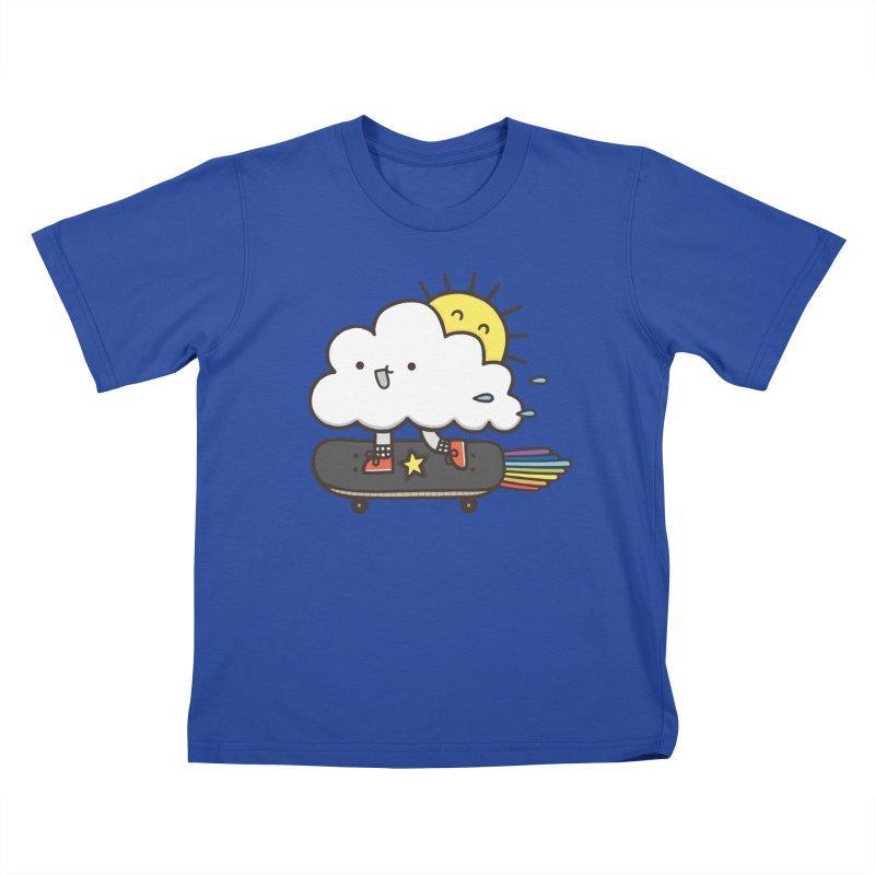 ALWAYS TIME TO SKATE Kids T-shirt by RiLi's Artist Shop