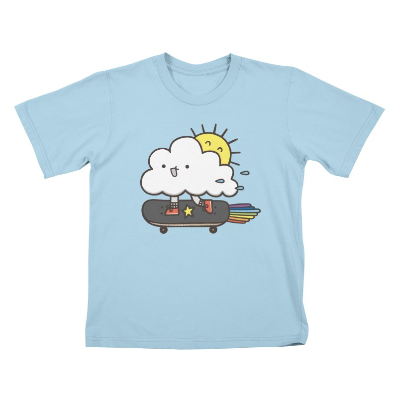 ALWAYS TIME TO SKATE Kids T-shirt by RiLi's Artist Shop