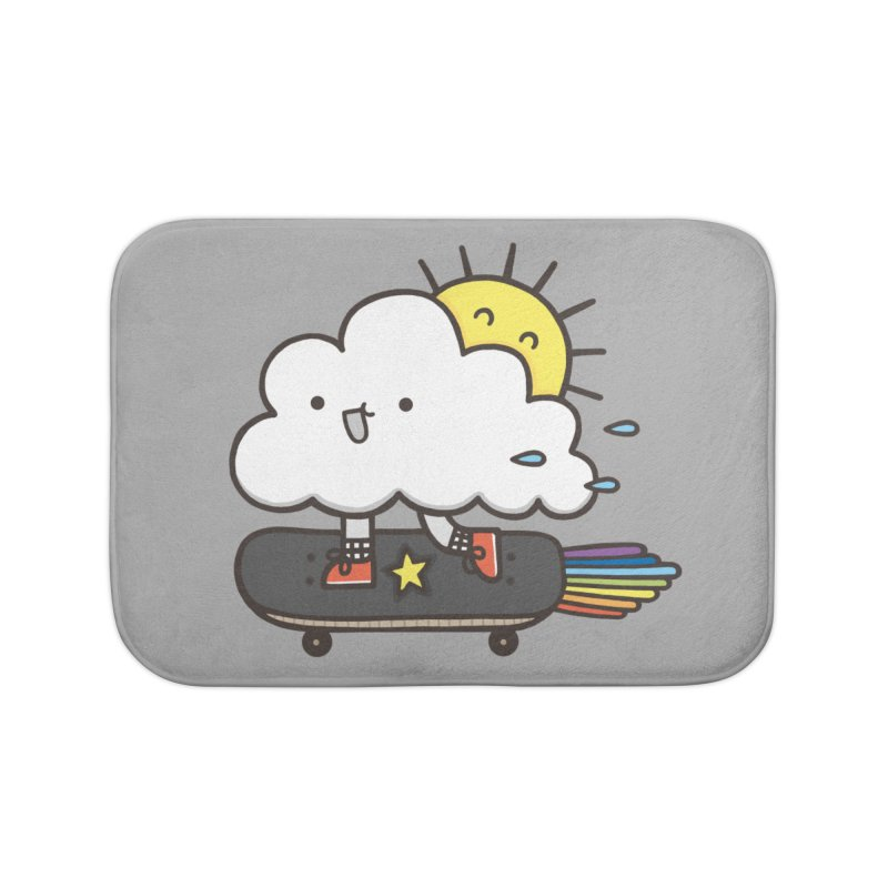 ALWAYS TIME TO SKATE Home Bath Mat by RiLi's Artist Shop