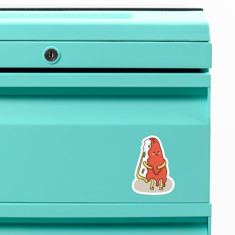 DEEP DISH PIZZA Accessories Magnet by RiLi's Artist Shop