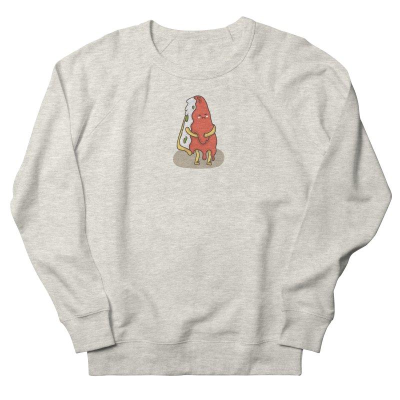 DEEP DISH PIZZA Women's French Terry Sweatshirt by RiLi's Artist Shop