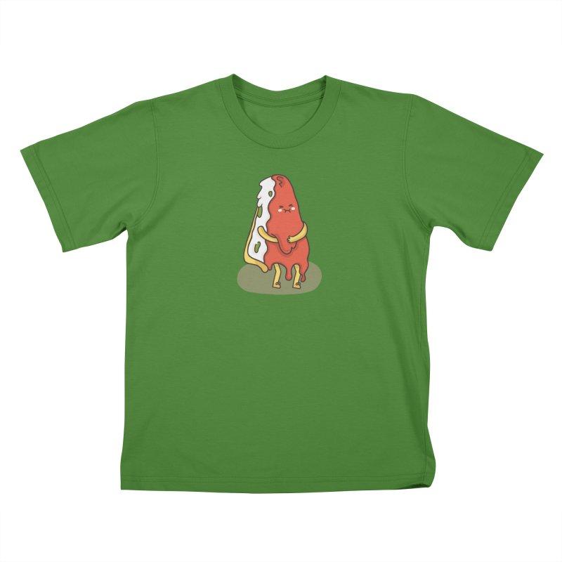 DEEP DISH PIZZA Kids T-Shirt by RiLi's Artist Shop